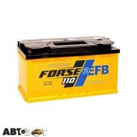 Автомобильный аккумулятор FORSE (Westa) 6СТ-110 АзЕ EFB