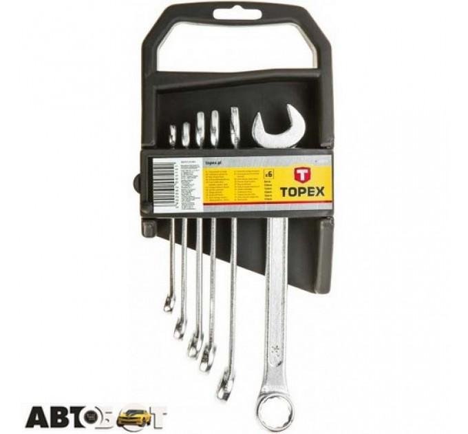 Набор ключей рожково-накидных TOPEX 35D373, цена: 178 грн.