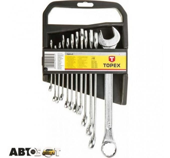 Набор ключей рожково-накидных TOPEX 35D375, цена: 336 грн.