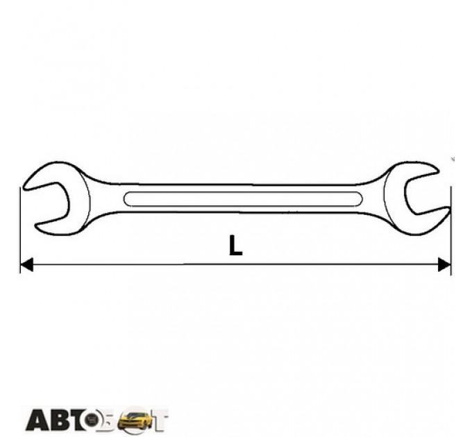 Ключ рожково-накидной TOPEX 35D743, цена: 219 грн.