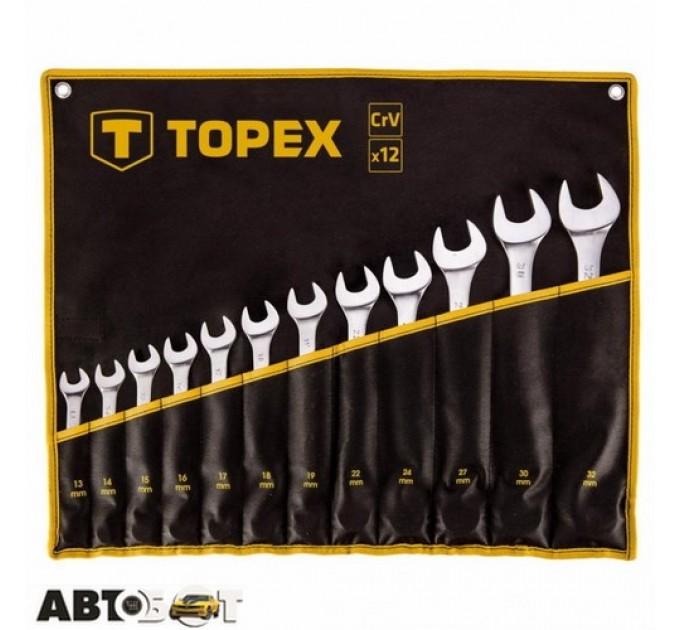 Набор ключей рожково-накидных TOPEX 35D758, цена: 1 373 грн.