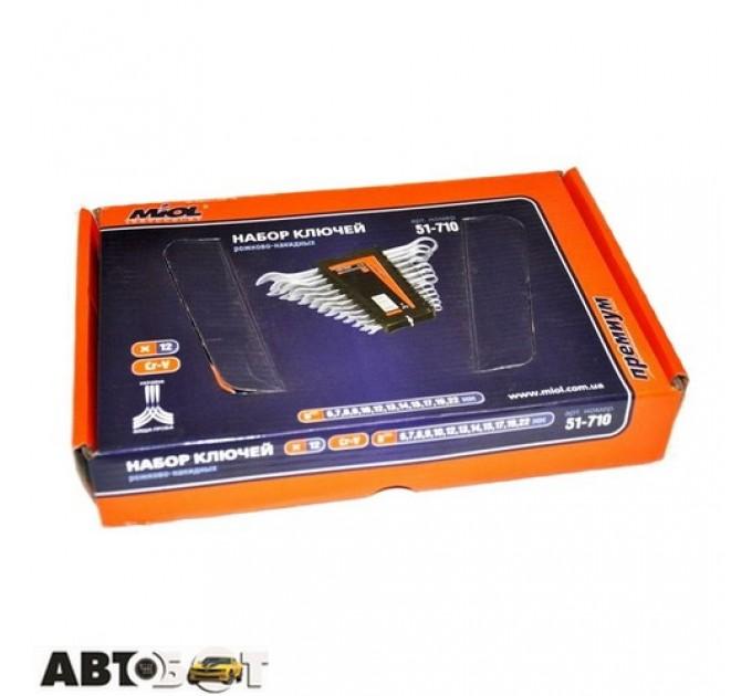 Набор ключей рожково-накидных MIOL 51-710, цена: 290 грн.