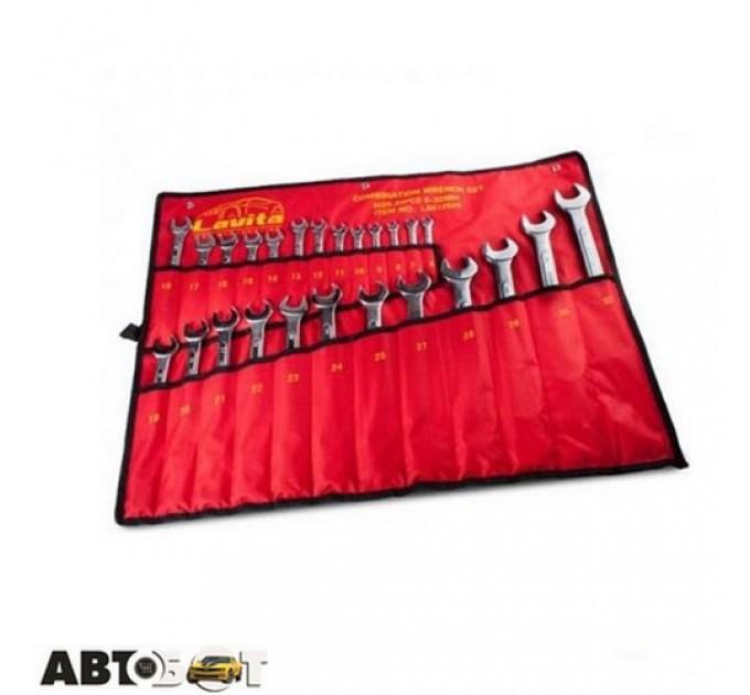 Набор ключей рожково-накидных Lavita LA 512925, цена: 1 173 грн.