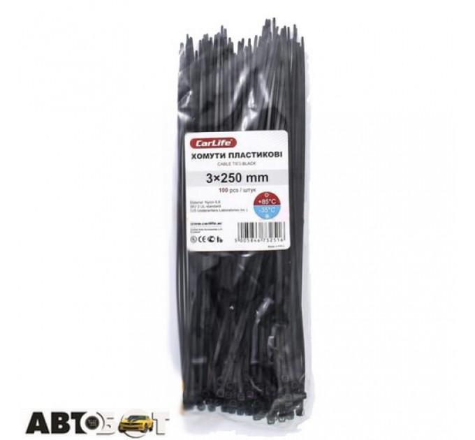 Стяжка CarLife BL3.0x250, цена: 37 грн.