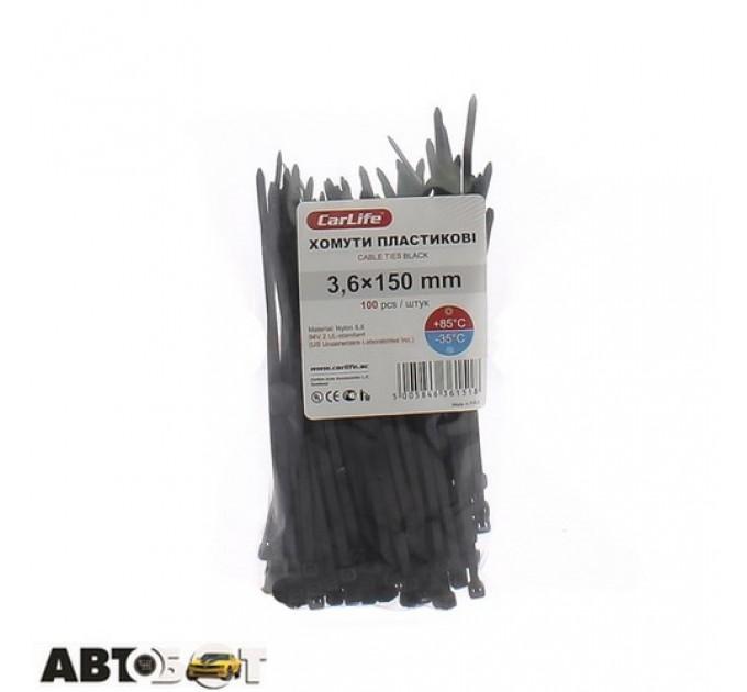 Стяжка CarLife BL3.6x150, цена: 26 грн.