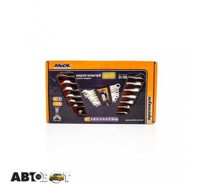 Набор ключей рожково-накидных MIOL 51-705, цена: 217 грн.