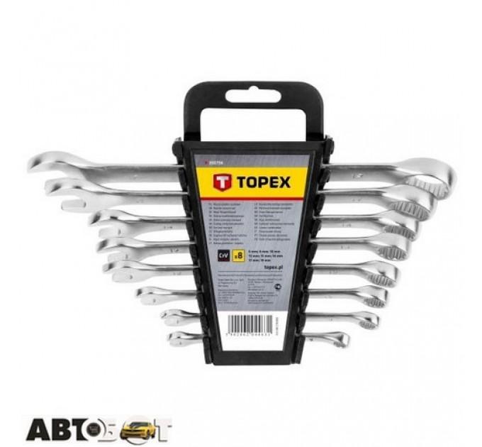 Набор ключей рожково-накидных TOPEX 35D756, цена: 419 грн.