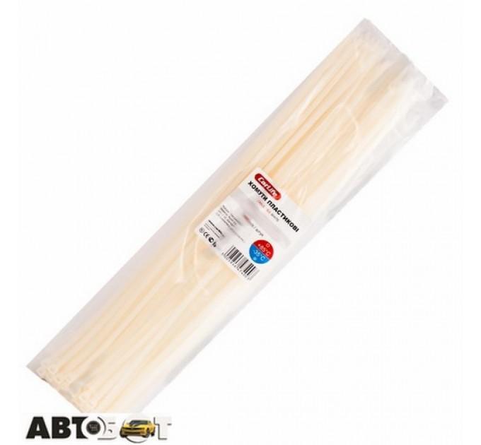 Стяжка CarLife W4.8x400 (100шт.), цена: 97 грн.