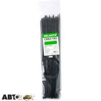 Стяжка БЕЛАВТО 2,5 х 100 черные 100 шт. B25100