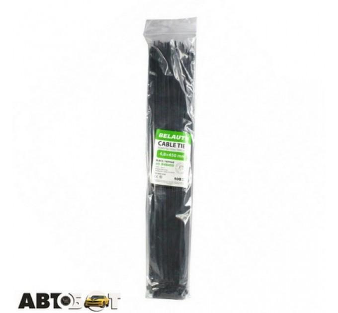 Стяжка БЕЛАВТО 4,8 х 450 черные 100 шт. B48450, цена: 172 грн.