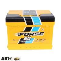 Автомобильный аккумулятор FORSE (Westa) 6СТ-60 Аз 600А