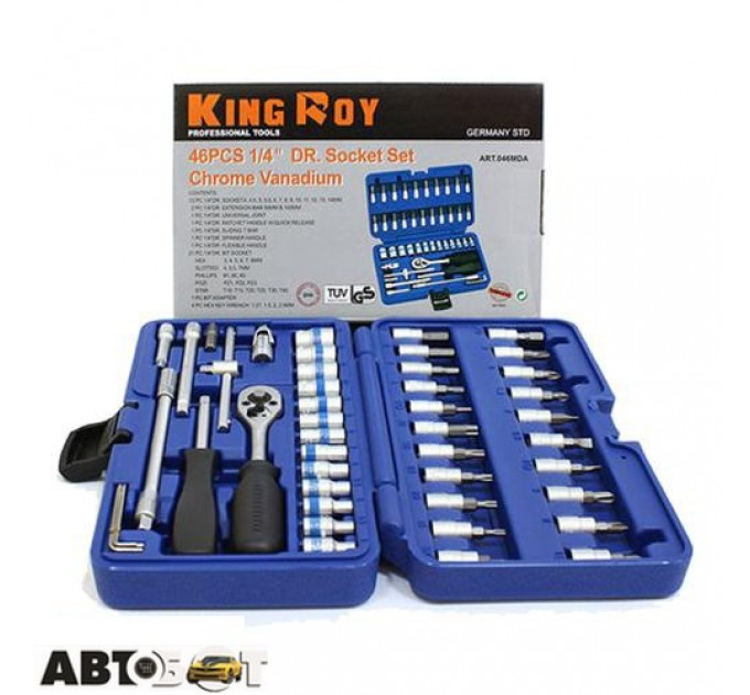 Набор инструментов KING ROY 046MDA, цена: 774 грн.