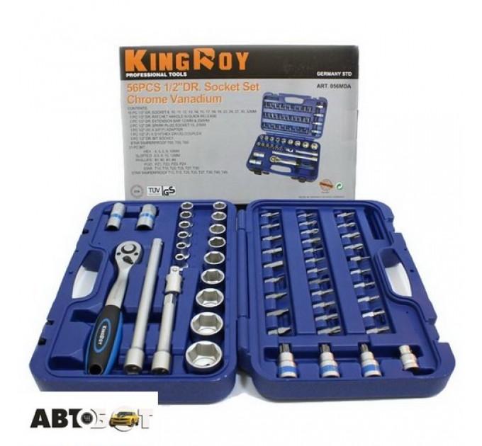 Набор инструментов KING ROY 056MDA, цена: 47 грн.