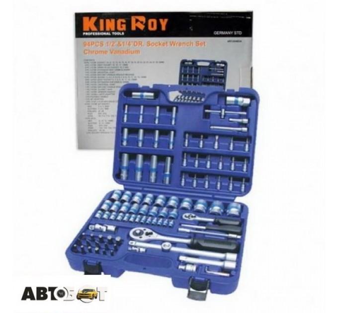Набор инструментов KING ROY 094MDA-6, цена: 1 572 грн.