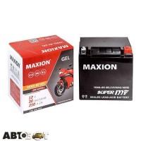 Мото аккумулятор MAXION 6СТ-30 АзЕ YB 30L-BS (GEL)