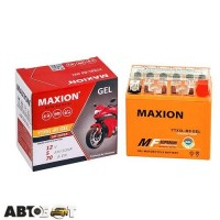 Мото аккумулятор MAXION 6СТ-5 АзЕ YTX 5L-BS (GEL)