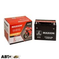 Мото аккумулятор MAXION 6СТ-18 Аз YTX 20-BS AGM