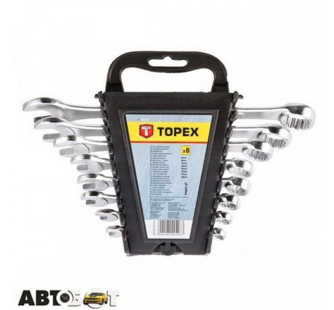Набор ключей рожково-накидных TOPEX 35D398, цена: 197 грн.