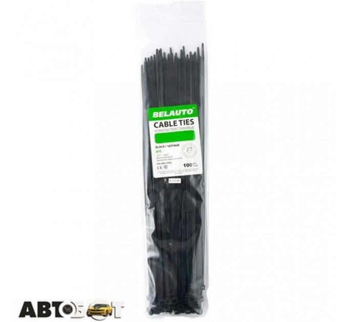 Стяжка БЕЛАВТО 7,6 х 350 черные 100 шт. B76350, цена: 209 грн.