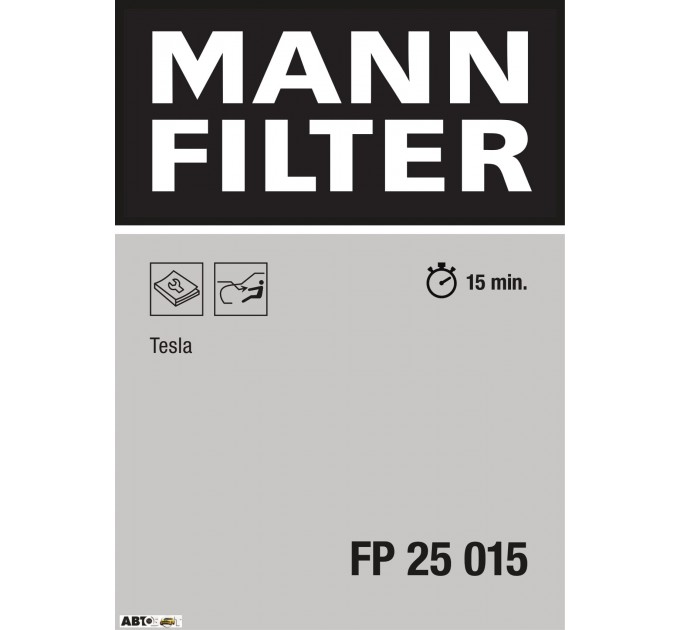 Салонный фильтр MANN FP 25 015
