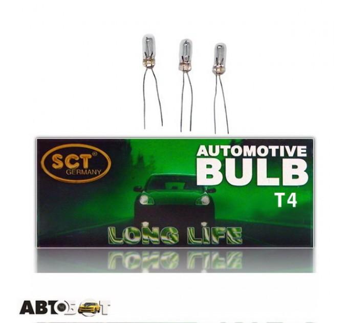 Лампа накаливания SCT T4 12V80mA 202129 (1шт.)