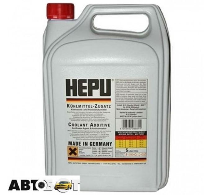 Антифриз HEPU Hepu G12 READY MIX красный P900-RM12 5л