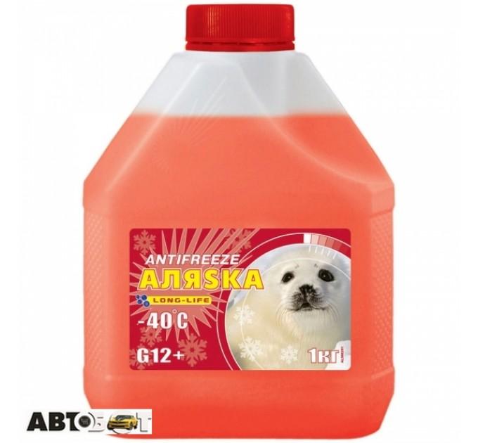 Антифриз Аляsка G12+ красный -40°C 5527 5л