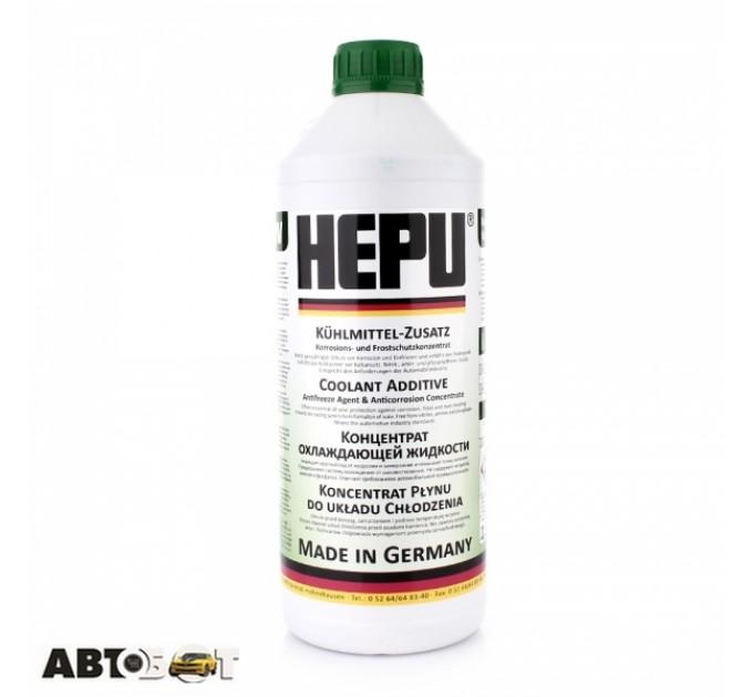 Антифриз HEPU G11 зеленый концентрат  P999-GRN 1.5л