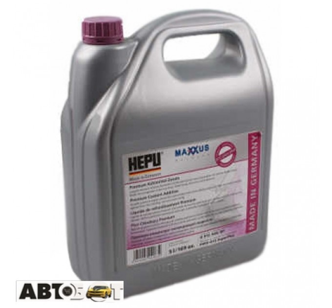 Антифриз HEPU G12++ фиолетовый концентрат P999-G12superplus-005 5л