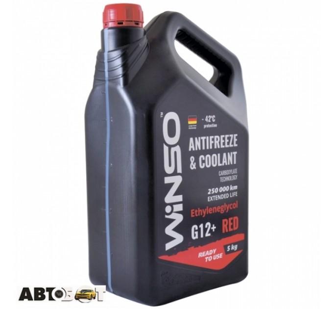 Антифриз Winso ANTIFREEZE & COOLANT WINSO RED G12+ 880910 5кг