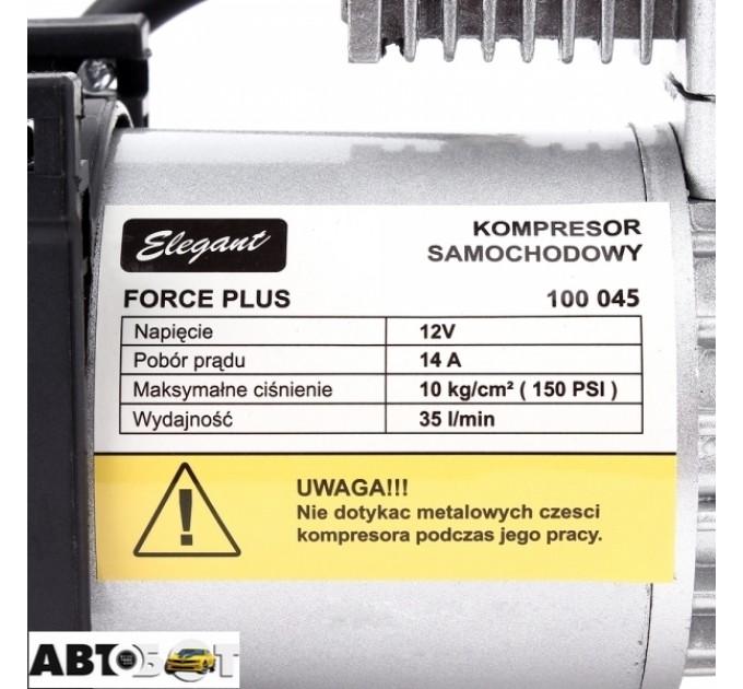 Автокомпрессор Elegant Force Plus 100 045