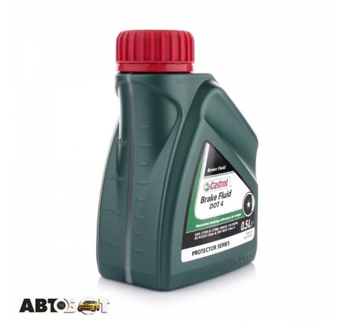 Тормозная жидкость CASTROL Brake Fluid DOT 4 0.5л