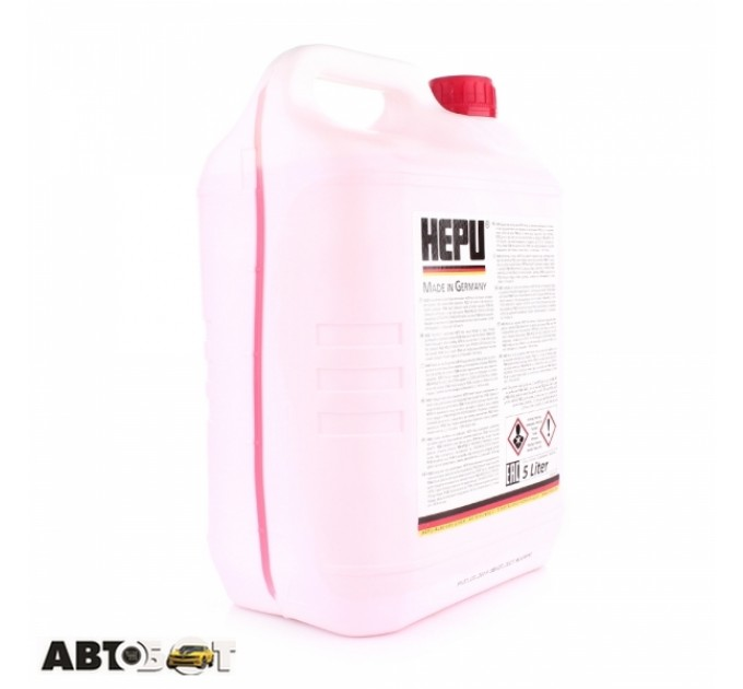 Антифриз HEPU G12 красный концентрат P999-G12-005 5л