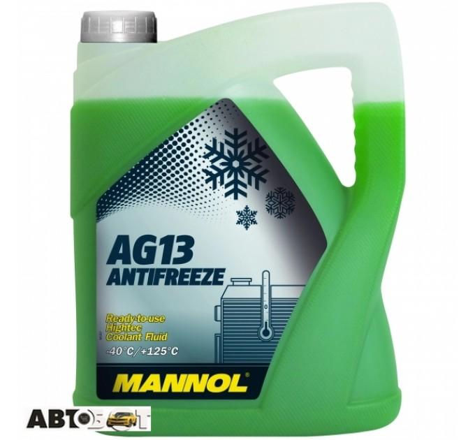 Антифриз MANNOL Antifreeze AG13 зеленый -40C 5л