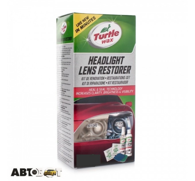 Полироль TURTLE WAX Headlight Lens Restorer 51768/FG7606