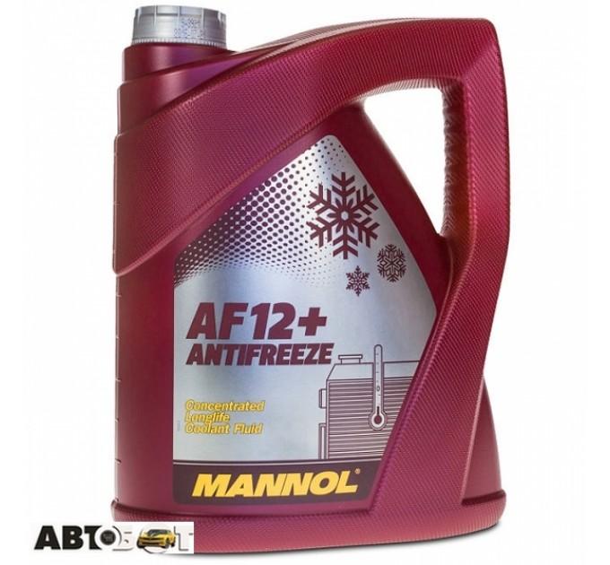 Антифриз MANNOL Longlife Antifreeze AF12+ красный концентрат 5л