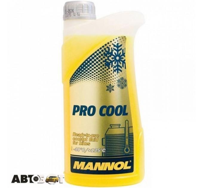 Антифриз MANNOL Antifreeze Pro Cool 1л