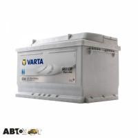 Автомобильный аккумулятор VARTA 6СТ-74 SILVER dynamic (E38)