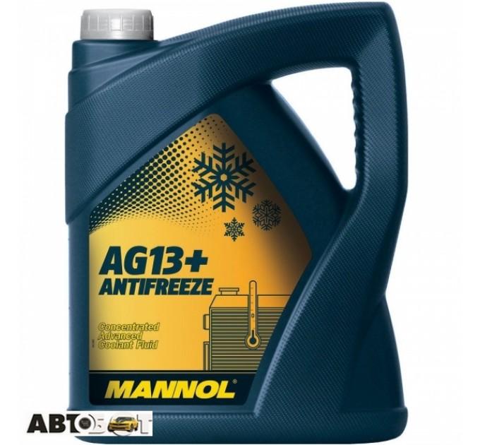 Антифриз MANNOL Antifreeze AG13+ Advanced  желтый концентрат 5л