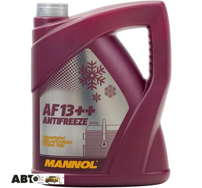 Антифриз MANNOL Antifreeze AG13 ++ концентрат 5л