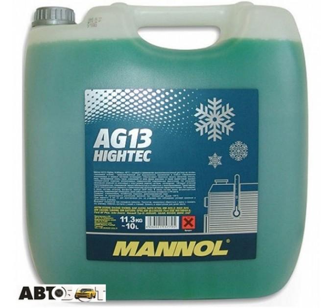Антифриз MANNOL Hightec Antifreeze AG13 зеленый концентрат 10л