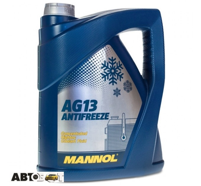 Антифриз MANNOL Hightec Antifreeze AG13 зеленый концентрат 5л