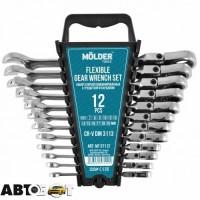 Набор ключей рожково-накидных Molder MT57112