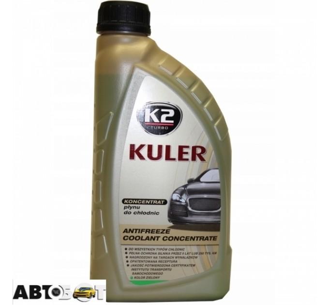 Антифриз K2 KULER G11 зеленый концентрат T211Z 1л