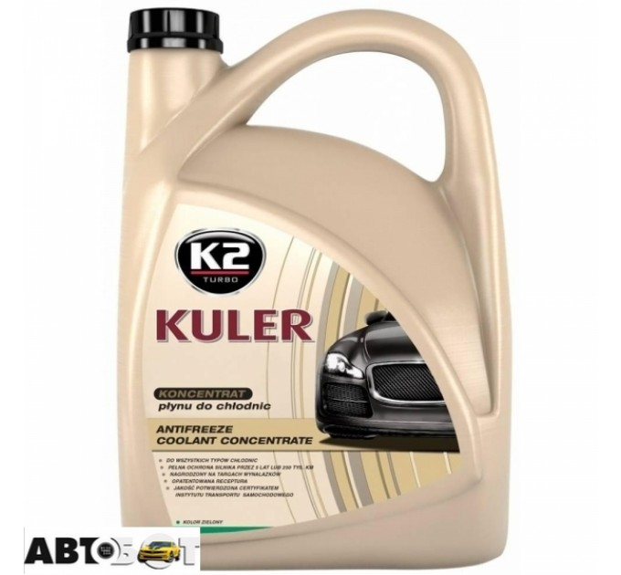 Антифриз K2 KULER G11 зеленый концентрат T215Z 5л