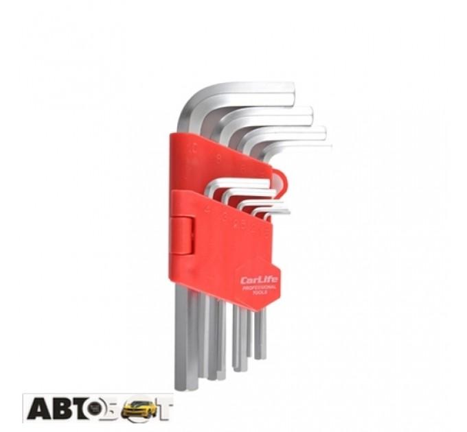 Набор шестигранных ключей CarLife WR2114