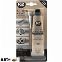 Герметик K2 Silicone Black B210 85г