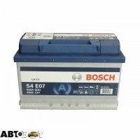 Автомобильный аккумулятор Bosch 6СТ-65 АзЕ EFB 0 092 S4E 070