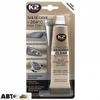 Герметик K2 Silicone Clear B255 85г