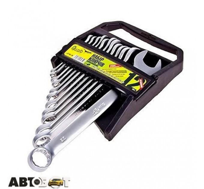 Набор ключей рожково-накидных Alloid HK-2005-12M